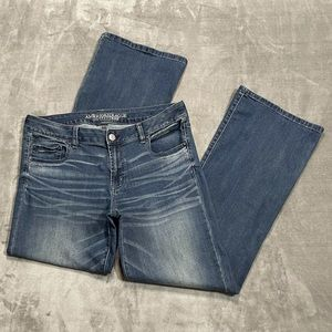American Eagle Favorite Boyfriend Bootcut Jeans!